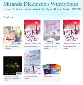 WurdyStore Frontpage