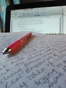 Writing Pic
