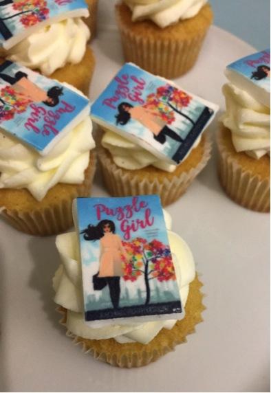 Goldsboro Puzzle Girl cupcakes
