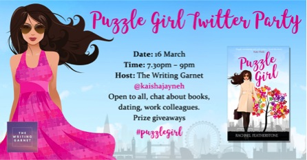 Puzzle Girl Twitter Party Invite