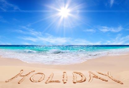 Holiday beach image