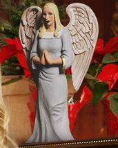 Angel of Christmas angel